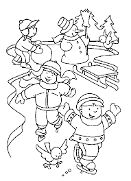January Coloring Page Pages Bestofcoloring Free Book
