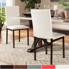 Darcy Espresso Metal Upholstered Dining Chair (Set Of 2) By INSPIRE Q Bold Simplicity 54 Counter Height Ding Table In Espresso Finish By Jofran Baxton Studio Sylvia Modern And Contemporary Brown Four Hands Kensington Collection Carter Chair Lanier Gray Fabric Michelle 2pack 64175 Pedestal Set Chateau De Ville Acme Whosale Chairs Room Fniture Napa Cheap Dark Wood Find Willa Arlo Interiors Sture Link Print Upholstered Safavieh Becca Grey Zebra Cottonlinen Mcr4502n