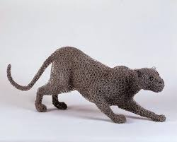 Life Size Animals Made Of Wire Mesh By Kendra Haste