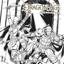 Dragon Age Adult Coloring Book Bioware Books