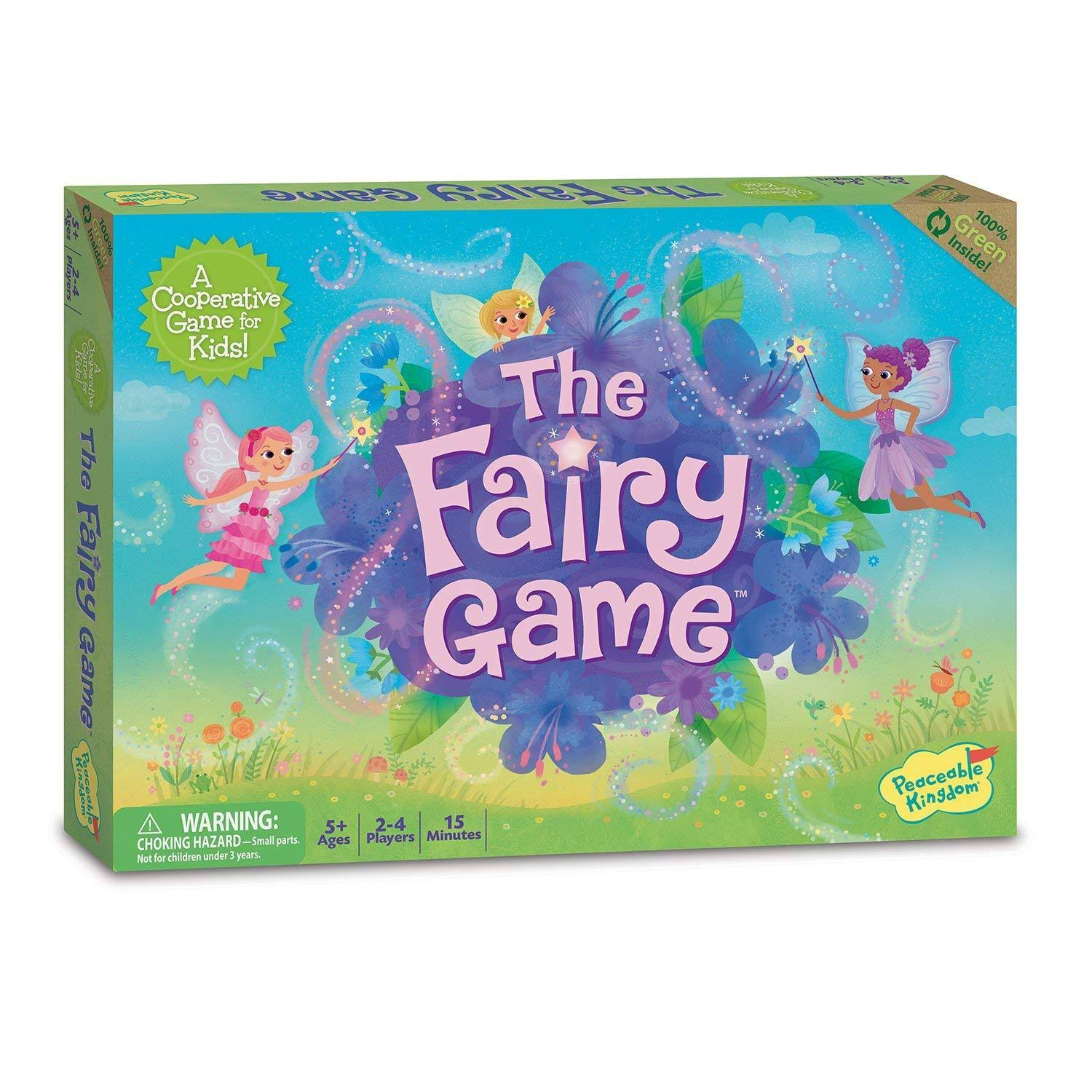 Peaceable Kingdom Board Game - The Fairy Game