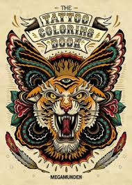 Tattoo Coloring Book By Oliver Munden Paperback