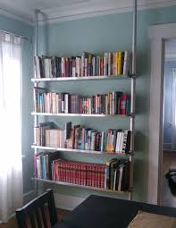 Floor To Ceiling Tension Pole Room Divider by Stolmen And Ekby Compression Bookshelf System 5 Steps With Pictures