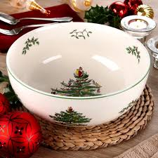 Spode Christmas Tree Serving Bowl Spode UK