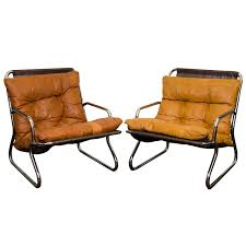 Danish Modern Tubular Chrome And Leather Lounge Chairs-NYShowplace Hay About A Chair Aac22 Chair With Fabric Seatpad Replica Diiiz Fniture House Modern Chairs Set Of 4 Mid Century Ding Wood Leg Kitchen Risom Rocker Design Within Reach Whosale And Ottoman Living Room Fniture Ng92101 Danish Midcentury Pair Samso Lounge Chairs Designed Teak Garden Belle Escape Milo Baughman From Thayer Coggin Accent At Walmart 2019 Adalyn White Linen Buy Online Pin By Brad G On Living Fabric Carl Hansen Sn Ch07 Shell Hans J Wegner 1963