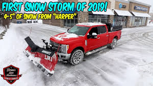 100 How To Plow Snow With A Truck First Major Storm Of 2019 Working The Rust Out Ing