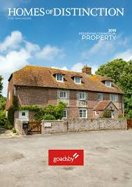100 Houses Magazine Online Goadsby Estate Agents News Homes Of Distinction 2019