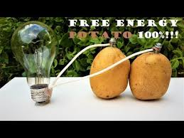 free energy light bulbs 220v using potato iwbc ru