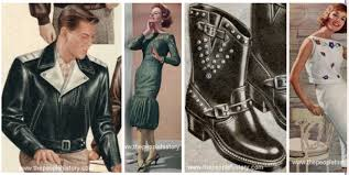 Late Fifties Teen Rebel Fashions For Boys And Girls