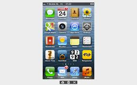 iPhone 4 screen mirroring WOUTERCX blog