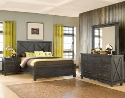 Modus Furniture Yosemite Wood Bedroom Set