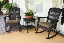Portside Plantation Rocking Chairs Tortuga Outdoor Dark Roast