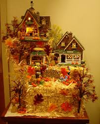 Lemax Halloween Village Displays by Christmas Village Base Platform By Me Carving Foam To Create 20