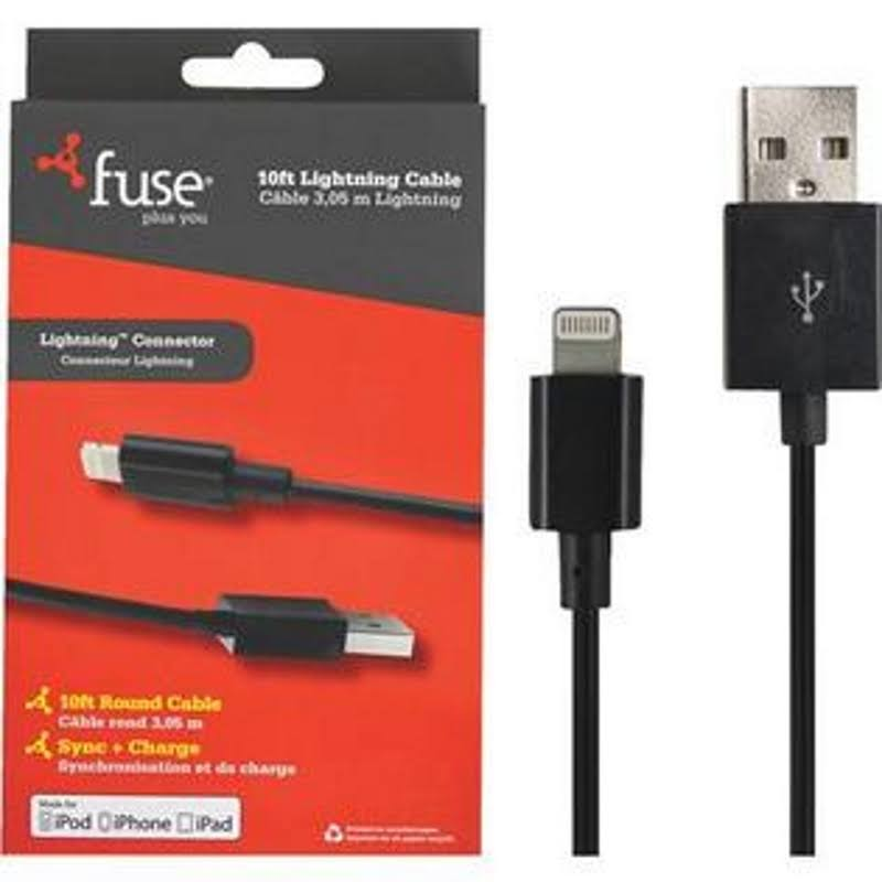 Fuse Apple Lighting Cable - 10'