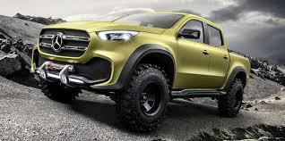 Mercedes Pickup Truck Concept: Here It Is | Mercedes Benz, Benz And Cars The Plushest And Coliest Luxury Pickup Trucks For 2018 Americans Are Ditching Sedans Pricey Carbuzz Trucks Abc7com Sportchassis P4xl Is A Sport Utility Truck 95 Octane Allnew 2017 Honda Ridgeline Makes World Debut At 2016 Top 10 Modern Sales Failures Part Ii Tricked Out Get More Luxurious Anything On Wheels Mercedesbenz Concept Xclass Aims To Bring Ram Unveils 1500 Tungsten Limited Edition As Its New For Sale And Used Green Mercedes Youtube China Rhd Hot N2 Diesel In Europe