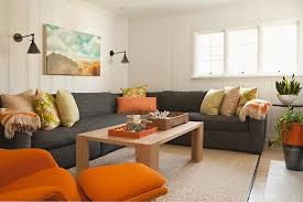 charcoal gray sectional design ideas