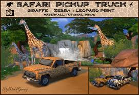 100 Safari Truck Mod The Sims Pickup