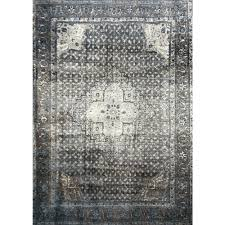 nuLOOM Vintage Kellum Blue 5 ft 11 in x 9 ft Area Rug OWTC02A