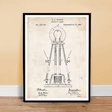 edison light bulb invention 1881 us patent