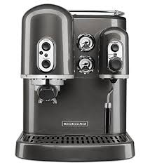 KitchenAid Pro Line Series Espresso Maker With Dual Independent Boilers Medallion Silver Certified Refurbished