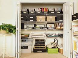 Homey Small Home Office Organization Ideas Nice Storage Closet Smart