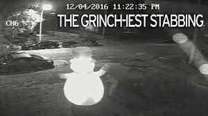 Frosty The Snowman Christmas Tree Ornaments by How The Grinch Stabbed Christmas Vandal Subjects Inflatable