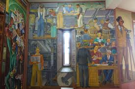Coit Tower Murals Images by File Newsgathering By Suzanne Scheuer Coit Tower San Francisco