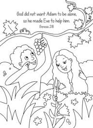 Creation Memory Verse Coloring Sheet From The Lesson Of In