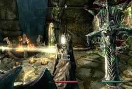 Skyrim Meridia & the Gleaming Dawnbreaker Sword Daedra Artifact