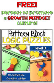 FREE Sample This Set Of Interactive Pattern Block Logic Puzzles Will Have Kids Begging For