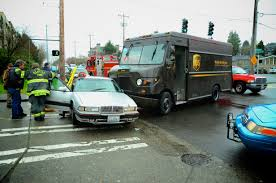 100 Ups Truck Accident UPS Truck Vs Passenger Vehicle Wreck On Fauntleroy Westside Seattle