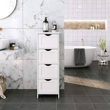 selsey wlens badregal kommode für badezimmer mit 4 schubladen weiß im landhausstil 30 cm breit