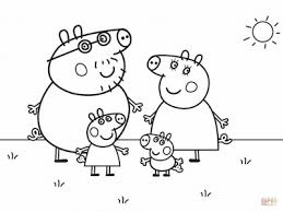 Medium Size Of Coloring Pagesfamily Page Elegant Family Peppa Pigs Pages