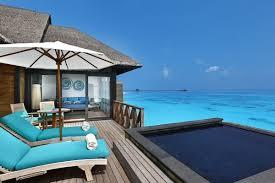 chambre sur pilotis maldives hôtel ja manafaru maldives 5 maldives réservation photos descriptif