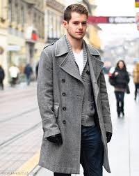 Winter Streetstyle Men Coats
