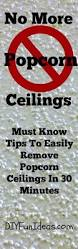 Does Popcorn Ceilings Have Asbestos In Them by How To Remove Popcorn Ceilings In 30 Minutes