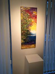 Large Paintings On Canvas Vertical Painting Art Long Artwork Wall