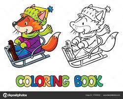 Coloriage Traineau