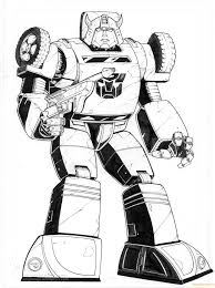 Bumblebee From Transformers Coloring Page
