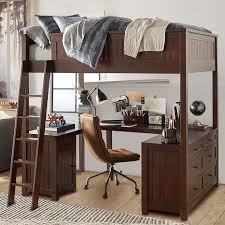 Beadboard Loft Bed