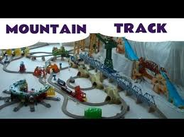 toy trackmaster thomas the train 2 action canyons tidmouth sheds