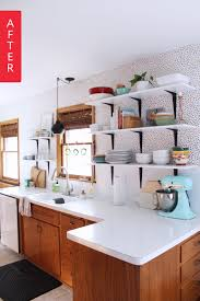 Kitchen Styles Redo Before And After 1980s 1940s Bathroom Sink 60s Style 7