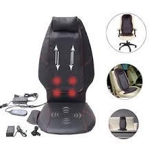 Back Massage Pads For Chairs by Heated Back Massage Cushion Seat Chair Massager Shiatsu Neck Thigh