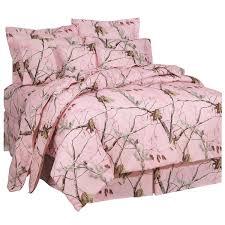 Realtree Camo Bathroom Set by Amazon Com Realtree Ap Pink Comforter Set Full Home U0026 Kitchen
