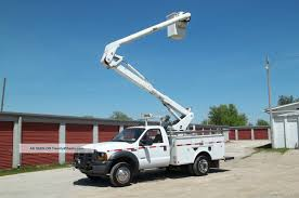 100 Altec Boom Truck 2007 Ford Bucket 41 F550 Financing Available