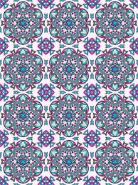 Mandala Pattern Coloring Pages For Adults Mandalas To Color Patterns Book Volume 6