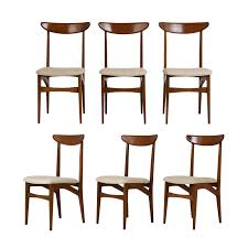 Set Of 6 Danish Teak Dining Chairs Mid Century Danish Modern Teak Upholstered Ding Chairs Set Of 6 By Niels Otto Moller For Jl Mller 1950s How To Re Upholster The Backs Midcentury 1960s 8 Kfoed 4 Vintage Midcentury Style Curved Back Walnut Oak Style Ding Chairs 1970s 88233 Fuchsia Chair Dania Fniture Weber Black Shell Seat Details About 2 Wegner Elbow Midcent Finish Solid Wood Frme Picked Amazoncom Glj Fashion Nordic Designer G Plan Solid Teak New Upholstery Mid Century Modern K Larsen Influenced