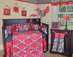 Navy And Coral Crib Bedding by Cribs Attractive Red Floral Crib Bedding Delicate Red Fox Crib