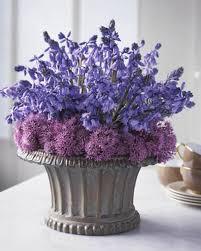 Simple Spring Flower Arrangements Table Centerpieces