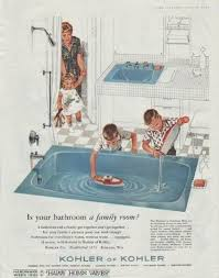 Sinking In The Bathtub 1930 by A Brief History Of The Bathroom Porch Advice
